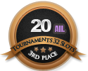 3rd in twenty 32 alliance tournament