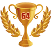 3rd in ten 64 player tournament