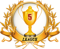 3rd place in five leagues