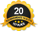 1st in twenty 16 player tournament