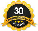 1st in thirty 8 player tournament