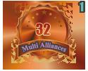 3rd in a Multi Alliances 32 tournament