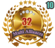 1st in ten Multi Alliances 32 tournament