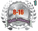 2nd in a Multi Alliances 8-16 tournament