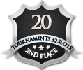 2nd in twenty 32 player tournament