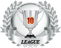 2nd place in ten leagues