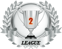 2nd place in two leagues