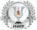 2nd place in five leagues
